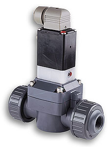 SV-10 : OMEGA-FLO® PVC Solenoid Valves for Corrosive Applications, 1/ 2