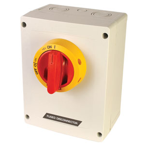 Fused Disconnect Switch, 30A, 600 Vac, manual motor controller   KKVM Series Across-the-line Motor Disconnect Switch