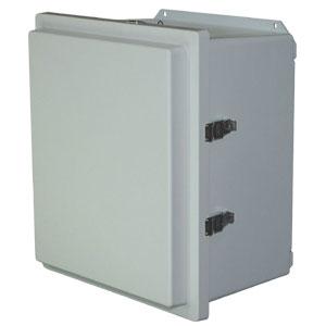 Weatherproof plastic enclosure   OM-AMHD-R Series Solar Battery Box