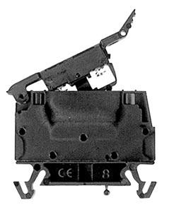 Screw Connection DIN Rail Fuse Block Terminal | OMTBV7-WFB Screw Connection Fuse Terminal Blocks