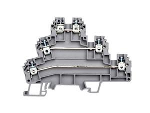 Multi-Level and Sensor Terminal Blocks   PIK & PUK Series DIN Rail Terminal Blocks