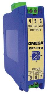 Conversor de RTD pt100 a 4-20mA o 0-10V | DRF-RTD