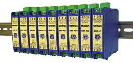 Acondicionadores de señales de montaje configurables en rieles DIN | Serie DRF