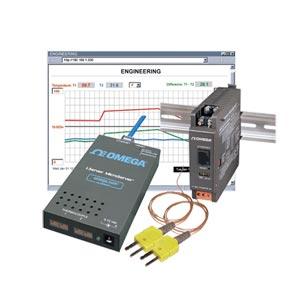 Registrador de gráfico virtual de termopar | Serie iTCX