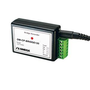 Registrador de datos de puente/galga extensiométrica | OM-CP-BRIDGE120