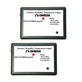 Pressure, Temperature and Humidity Dataloggers | OM-CP-PRHTEMP101 and OM-CP-PRHTEMP110