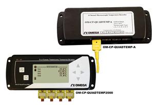 Registradores de datos de temperatura de 4 canales | OM-CP-QUADTEMP-A