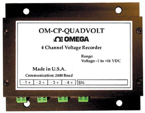 4 Channel Voltage Data Logger | OM-CP-QUADVOLT