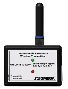 Wireless Thermocouple Temperature Transmitter Part of the NOMAD® FamilyThese products are not CE marked and use a frequency band which is not approved for use in Europe   OM-CP-RFTC4000A