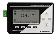 OM-CP-RTDTEMP2000 Precision RTD Temperature Data Logger | OM-CP-RTDTEMP2000