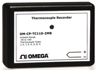 Thermocouple Data Logger with Extended Memory | OM-CP-TC110-2MB