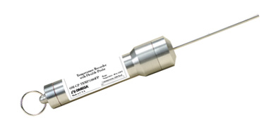 Rugged Temperature Data Logger with Flexible Probe   OM-CP-TEMP1000FP