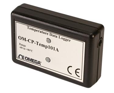 Registrado de datos de temperatura | OM-CP-TEMP101A