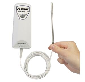 Sistema inalámbrico de monitorización y alarma con sonda remota | OM-CP-THERMALERT-GB-30, OM-CP-THERMALERT-GB-60, OM-CP-THERMALERT-GB-250 and OM-CP-THERMALERT-P