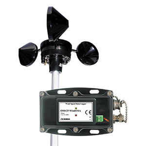 Cup Anemometer Wind Speed Data Logger - Order online | OM-CP-WIND101A-KIT