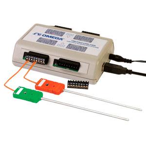 Módulo de adquisición para voltaje y termopar de 8/16 canales | OM-DAQ-USB-2401