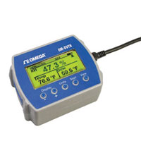 Registrador de datos de temperatura y humedad | OM-DVTH