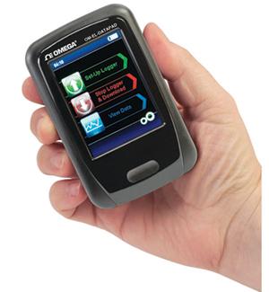Programador portatil y recolector de datos para los registradores de la serie OM-EL-USB | OM-EL-DATAPAD