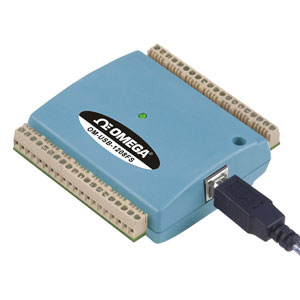Sistema de adquisición de datos USB de tensión de 8 canales  | OM-USB-1208FS_1408FS_SERIES