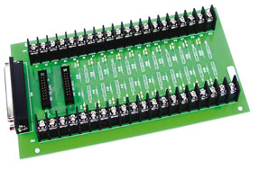 General and Analog Input Screw Terminal Panels  for OME Family of Data Acquisition Boards | OME-DN-20/37/50, OME-DB-37, OME-DB-8225/1825/8025/8125/8325