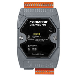 Web-Based Intelligent PAC Controllers | OME-WISE-7000 Series