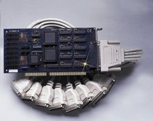 """8 Port ISA RS-232 Serial Interface with Extended """"AT"""" Interrupts 