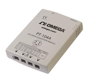 Módulo de adquisición de datos USB o Ethernet con 4 entradas RTD | PT-104A