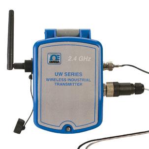 Transmisor inalámbrico de tempertaura/pH resistene a la intemperie | UWPH-2A-NEMA-M12 Series