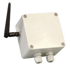 Transmisor inalámbrico resistente al clima para termopar y Pt100 | UWTC-2-NEMA
