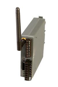Receptor inalámbrico de carril DIN con 4 salias analógicas | UWTC-REC4
