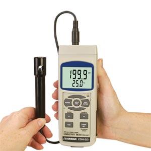 Medidor de conductividad, TDS y sal | CDH-SD1