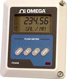 Caudalímetro doppler ultrasónico | Serie FD-400