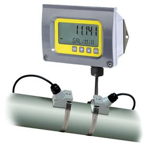CLAMP-ON ULTRASONIC ENERGY FLOWMETER | FDT-40E Series