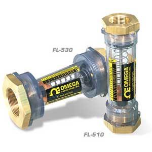Caudalímetros en línea para agua y aire | Serie FL-500