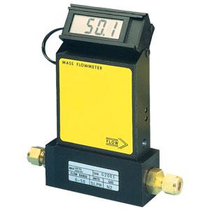 Caudalímetro másico para gas con pantalla | Serie FMA1700A/1800A