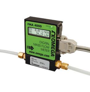 Caudalímetro totalizador másico de gas | Serie FMA- 4100/4300