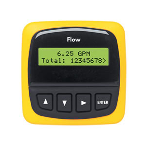 Flow Transmitter with rate/total display - relay outputs available | FP90 Series