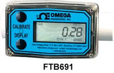 Caudalímetros económicos de turbina con pantalla | FTB690A Series