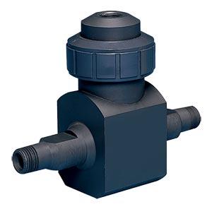 Caudalímetro vortex de plástico para líquidos corrosivos | Serie FV-200