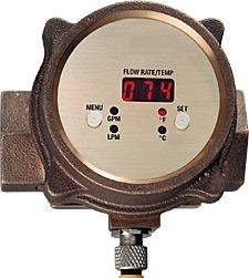 Caudalímetro y transmisor de temperatura  | Serie FV101