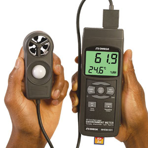 Handheld Environmental Meter | HHEM-SD1 Series