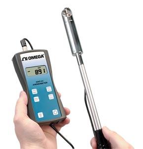 HHF141 Series Handheld Rotating Vane Anemometer | HHF141