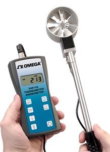 HHF143 Series Handheld Rotating Vane Anemometer | HHF143 Series