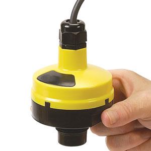 Controlador y transmisor de nivel ultrasónico | LVCN210 Series