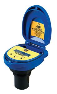 Transmisor de nivel ultrasónico de alimentación por bucle sin contacto | Serie LVU800