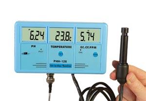 Analizador-Medidor de agua multifunción | PHH-126