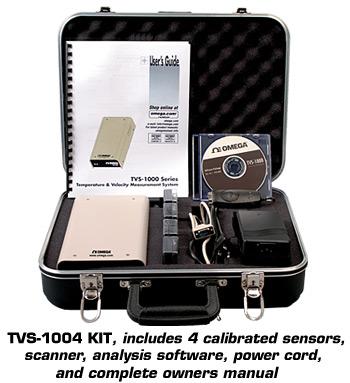 Velocity and Temperature Measurement System | TVS-1000 Series