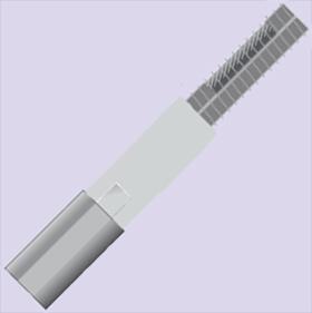 Medium Temperature Constant Wattage Heating Cable | FE Series