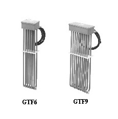 Side Mount Fluoropolymer Covered Heaters | GTF6 and GTF9 Styles