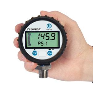 Manometro digital de presión por catálogo | Serie DPG8001 y DPGM8001